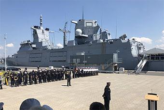 德国海军排水量7000吨护卫舰服役 成德主力军舰