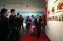 北京798朝鲜图片展