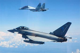 英台风战机距俄边境仅150公里 连续两日紧急起飞