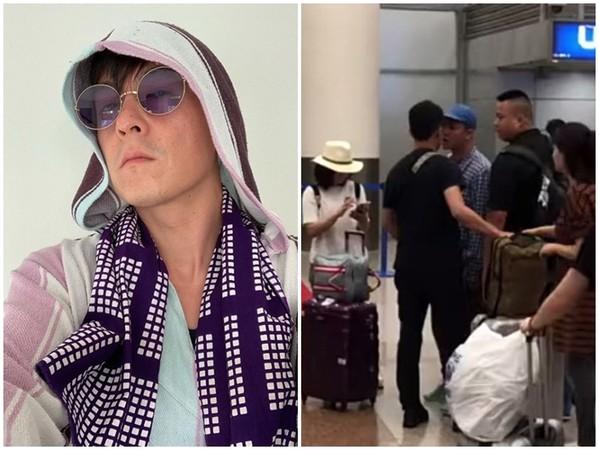 陈冠希机场遭偷拍发飙引围不雅 疑似被主播有意激愤