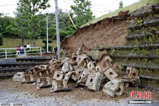 日本山形县外海6.7级强震 台方:暂无台旅客伤亡
