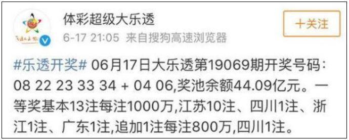 买40元彩票中了100000000元!这个南京人让网友操碎了心…