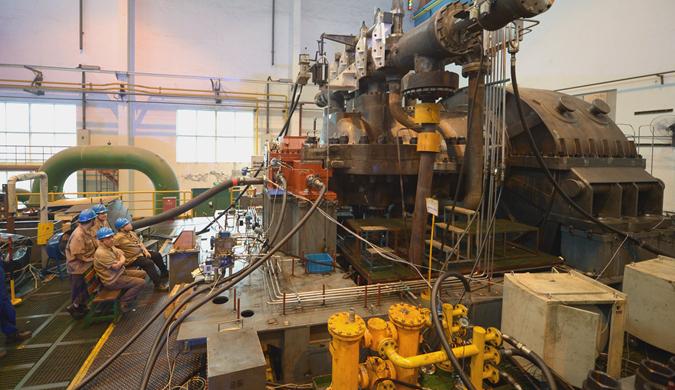 年产150万吨乙烯三机用汽轮机试车成功