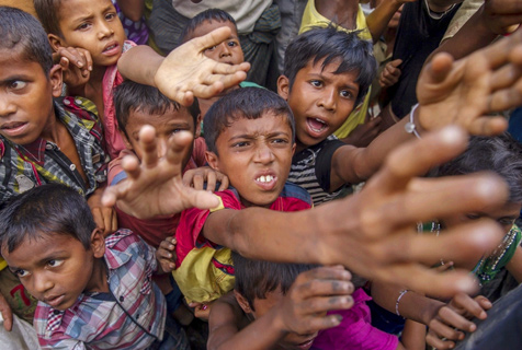 世界难民日聚焦各国难民儿童生存实录