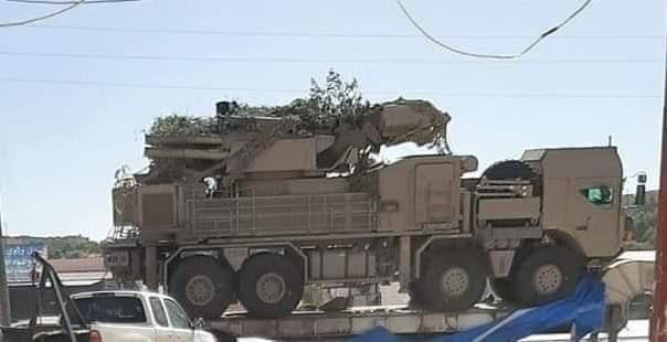 利比亚出现铠甲S1防空系统 这一特征很明显