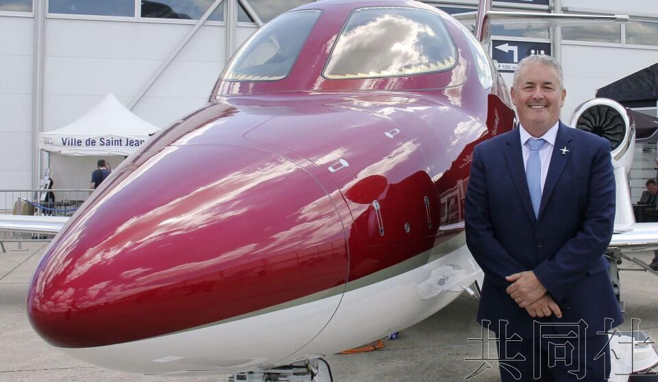 本田小型商务飞机高层:中国市场存在潜力,瞄准中国巨大市场