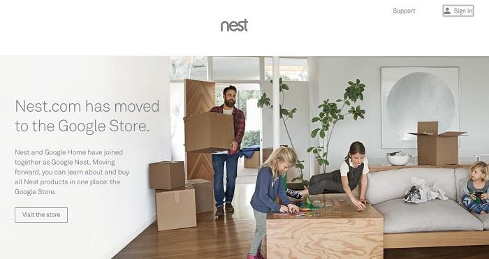 谷歌关闭Nest智能家居网站 合并至Google商店