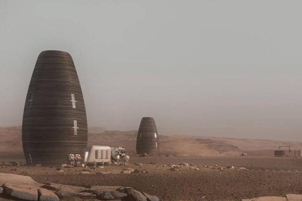 NASA举办火星建筑大赛 冠军设计抱回50万美元奖金