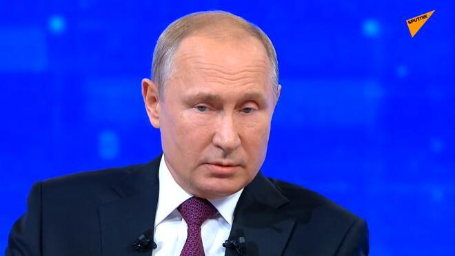 """普京:俄从未与任何国家""""争吵"""",也没有这样的想法"""