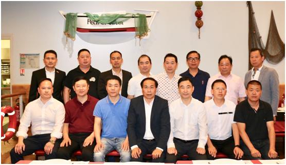 法国华人贸易促进会与文成代表团共话助力家乡发展