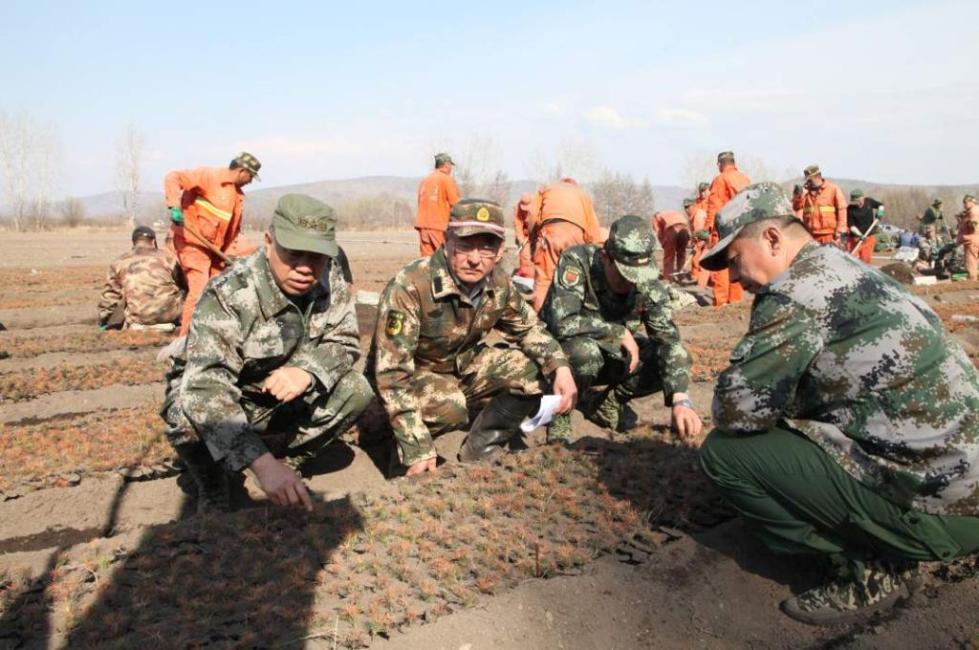 内蒙古大兴安岭根河火场一名前线指挥员不幸因公殉职