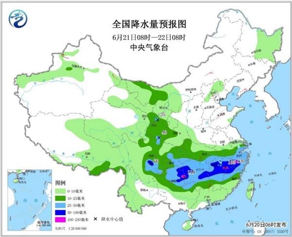 南方7省区将遭大暴雨  雨区重叠致灾风险高