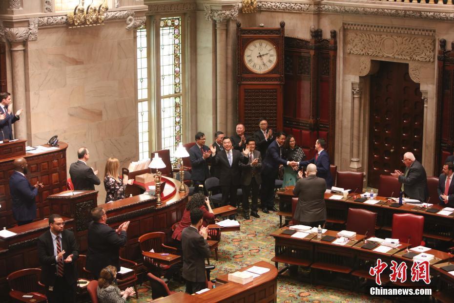 """外媒:纽约州参议院通过设立""""中国日""""议案"""