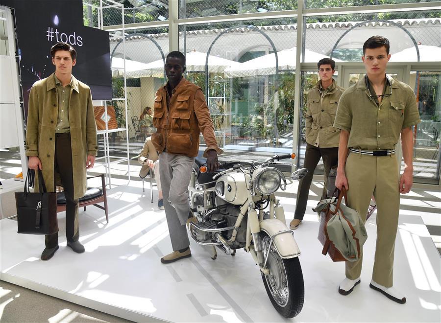 米兰男装周——Tod's品牌展示2020春夏新款时装