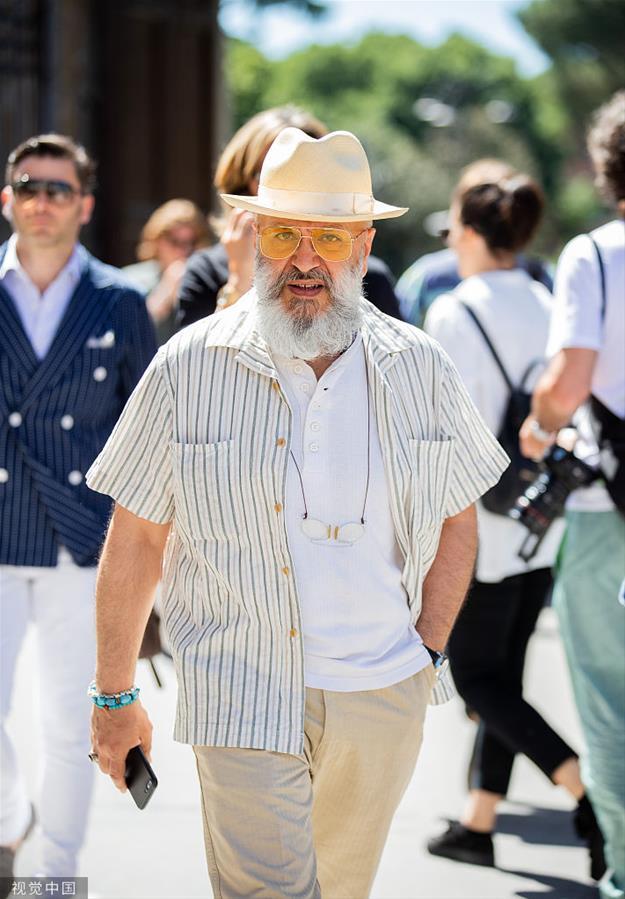 2020春夏佛罗伦萨男装周:潮人街拍