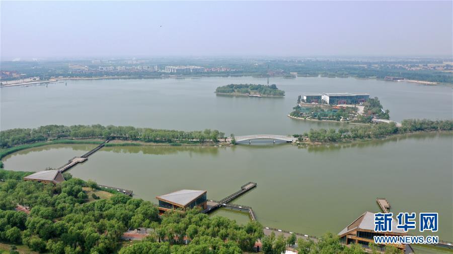 天津:俯瞰南湖·绿博园