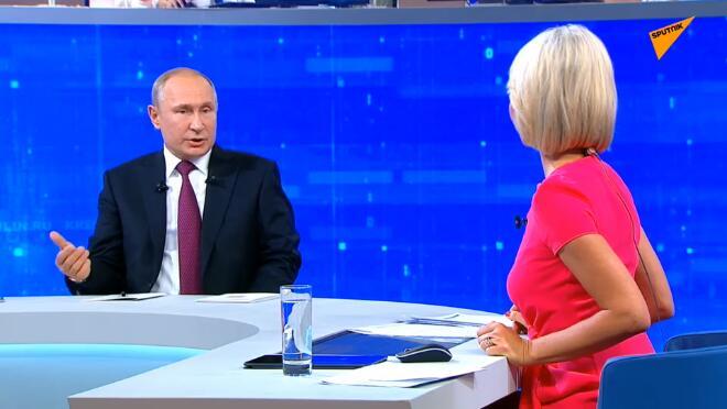 普京:西方对俄政策不太可能很快发生重大改变