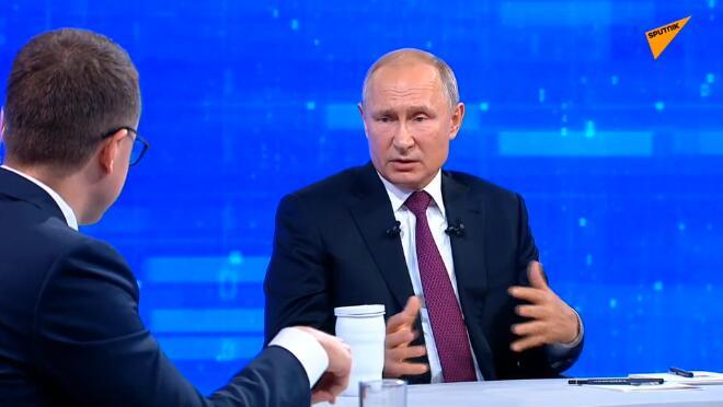 普京谈美伊局势:美国不排除使用武力,这对该地区将是一场灾难