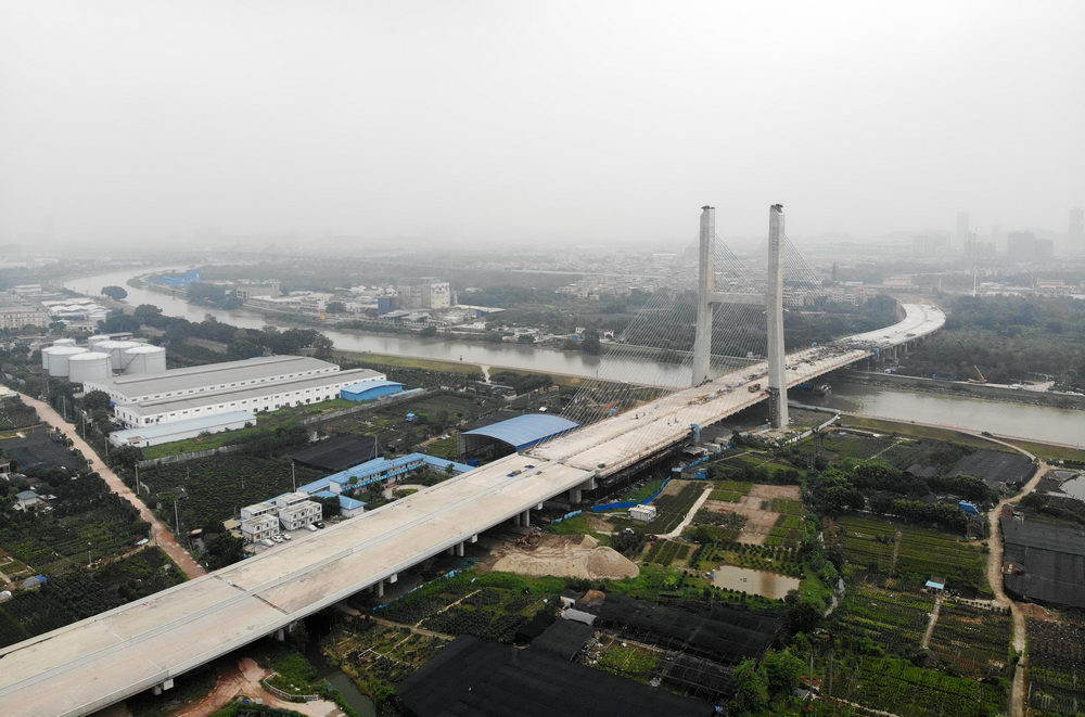 海华大桥贯通,广东顺德陈村最快5分钟到广州南站