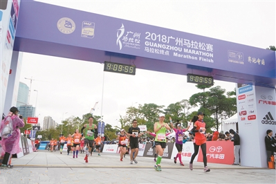 """广马被列""""奔跑中国""""系列赛 今年开跑时间已定"""