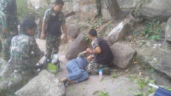 泰媒:中国孕妇泰国坠崖内情 系丈夫所为