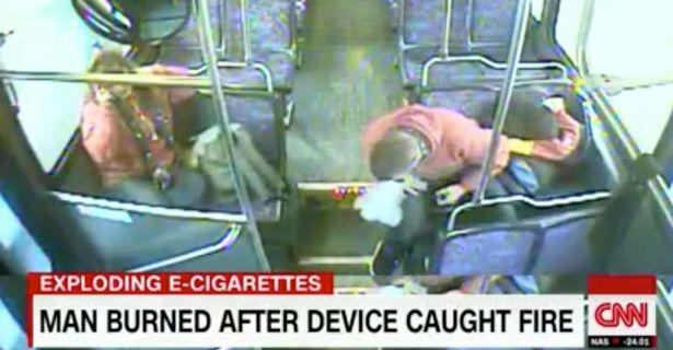 美国少年吸电子烟遇爆炸 面部遭受严重创伤