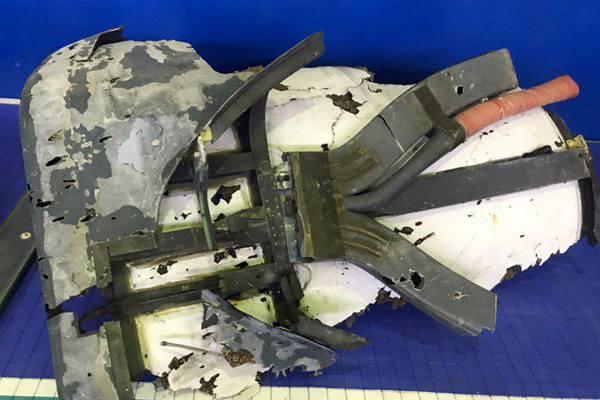 伊朗媒体公开被击落美军无人机残骸照片