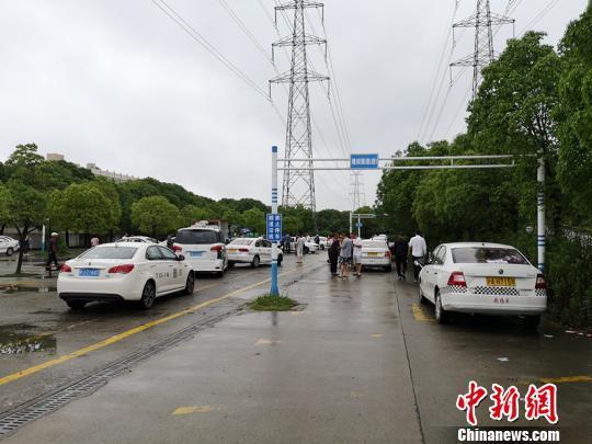 上海:闵行一处黑驾校训练基地被查处