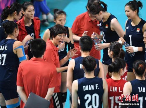世界女排联赛分站赛收官 中国女排两变化值欣喜