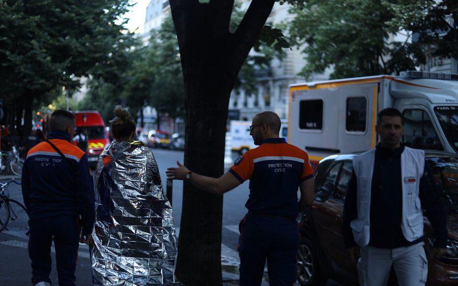 巴黎市中心一建筑物突发火灾,已致3人死亡1人重伤_中欧新闻_欧洲中文网