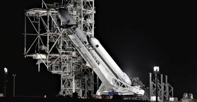 第三次SpaceX猎鹰重型火箭发射在即