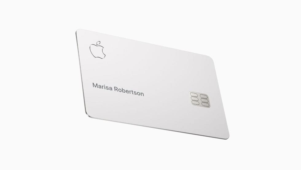 Apple Card信用卡实物照片曝光