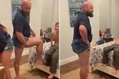 國外老爸為阻止未成年女兒穿超短褲上學放大招