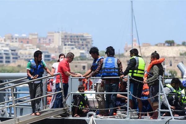 马耳他武装部队营救37名遇险偷渡者