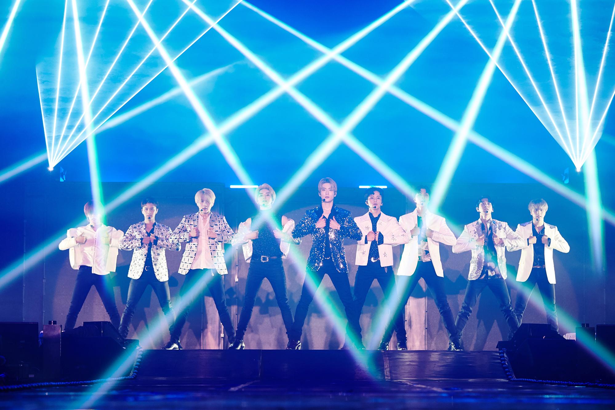 NCT 127泰国首次单独演唱会盛况空前