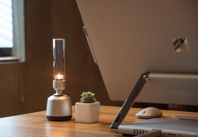 索尼推出新的创意音箱 外观类似小型煤气灯或者是烛台