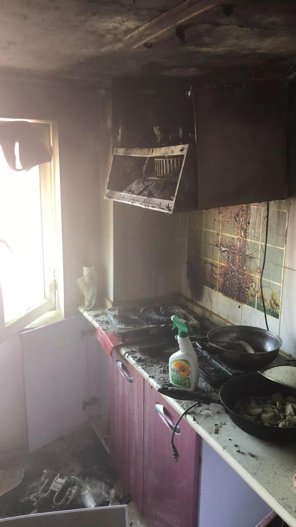 锡林浩特市一居民家厨房起火!厨房火灾怎么预防?