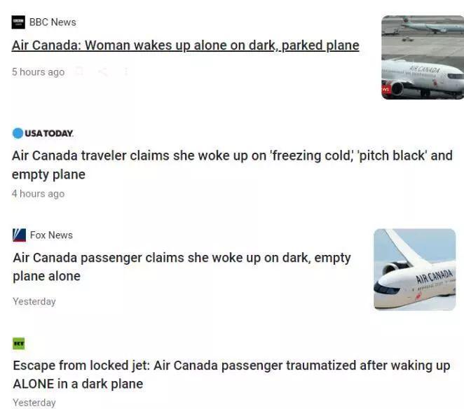 最怕的事发生了:一觉醒来,发现漆黑空荡荡的飞机上只剩下自己了!_中欧新闻_首页 - 欧洲中文网