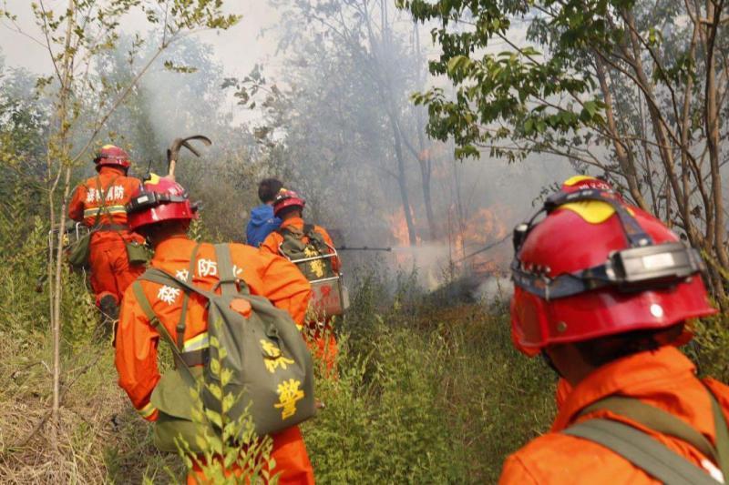 北京平谷山火未造成人员伤亡 燎荒村民72岁患有三级精神病