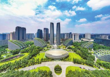 新成都:绿色公园城市画卷徐徐打开
