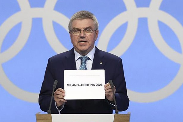 意大年夜利米兰和科尔蒂纳丹佩佐博得2026冬奥会举办权