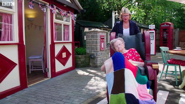 英养老院仿造上世纪50年代的商业街 供老人重建记忆