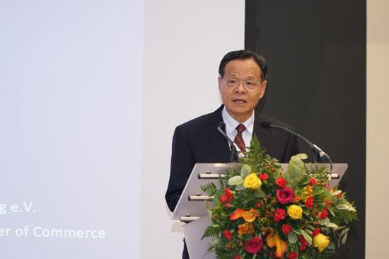中国(广西)-德国(慕尼黑)智能工业合作洽谈会在慕尼黑举行