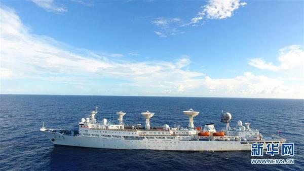 9分钟的海上传奇 远望3号船护送北斗导航卫星入轨记