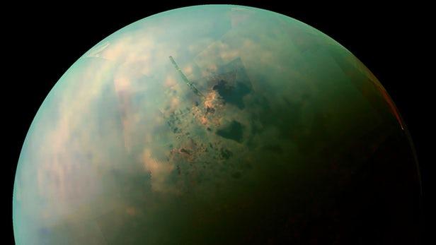 """科学家在实验室""""重建""""泰坦海洋 产生新晶体"""
