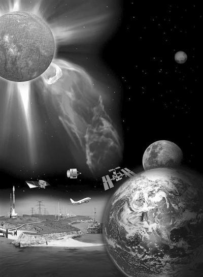 太阳对空间天气有何影响 NASA新任务将开展调查