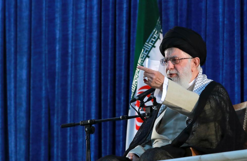 特朗普签订行政令对伊朗最高领袖哈梅内伊实施制裁