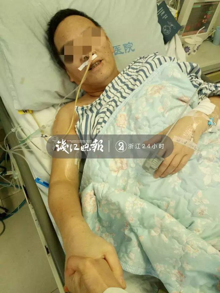 躺了两个月ICU!台州男子病情好转,却拉着医生的手恋恋不舍,哭着说:我不走!