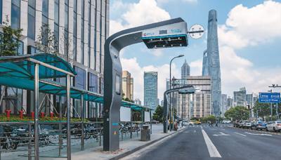 智动柔性充电弓现身上海 最大充电功率达450千瓦
