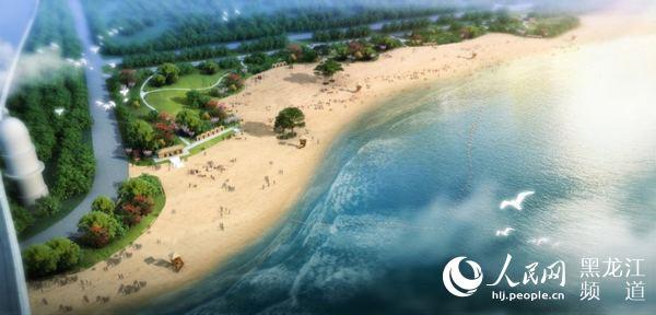 哈尔滨再添沿江风景线 太阳岛风景区新增两处免费沙滩